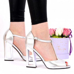 Sandale pentru dame cod C19 Silver