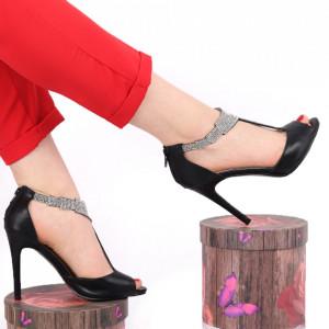 Sandale pentru dame cod F018 Black
