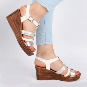 Sandale pentru dame cod J22 White