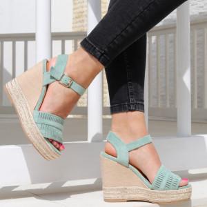 Sandale pentru dame cod JM221J Green
