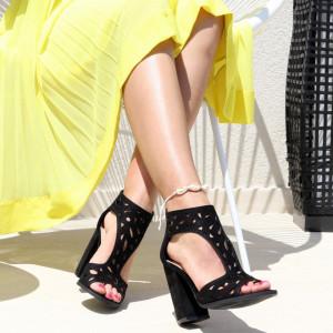 Sandale pentru dame cod M21 Black
