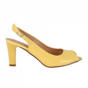 Sandale pentru dame cod OD0225 Yellow