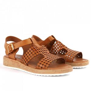 Sandale pentru dame cod P96 Brown