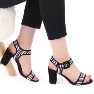 Sandale pentru dame cod Z05 Zebra