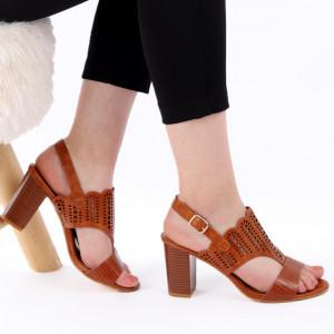 Sandale pentru dame cod Z44 Brown