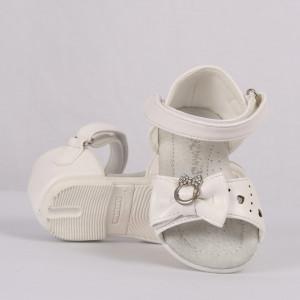 Sandale pentru fete cod CP60 Albe