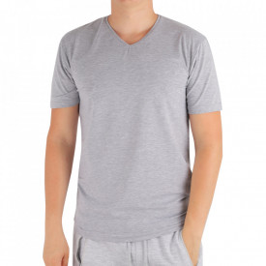 Tricou pentru bărbați Cod 4103 Gray