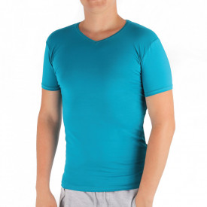 Tricou pentru bărbați Cod 4120 Albastru