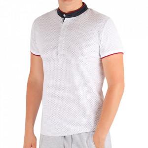 Tricou pentru bărbați Cod DA002 White