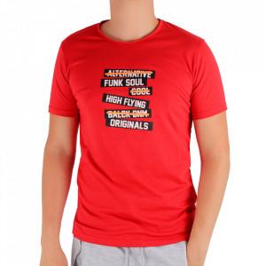 Tricou pentru bărbați Cod FF5 Red