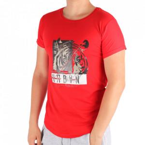 Tricou pentru bărbați Cod LL45 Red