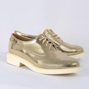 Pantofi din piele ecologică Lilliana Cod 329