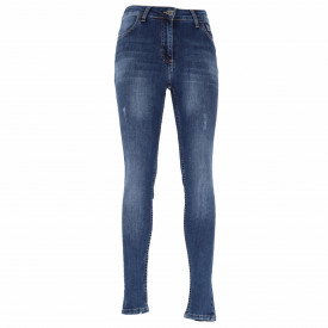 Pantaloni de blugi pentru dame cod ZANA0084 Albastri