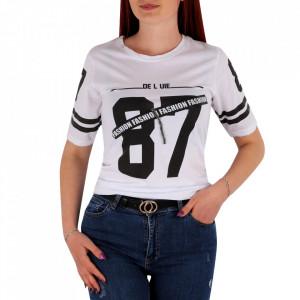 Tricou pentru dame cod TT3 White