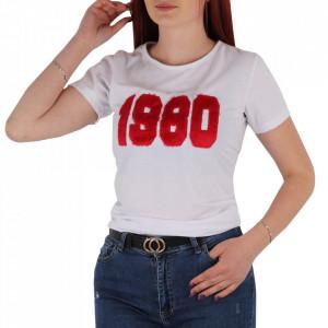 Tricou pentru dame cod TT7 White