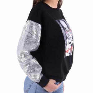 Bluza Neagra Cali - Cumpără îmbrăcăminte și incăltăminte de calitate cu un stil aparte mereu în ton cu moda, prețuri accesibile și reduceri reale, transport în toată țara cu plata la ramburs - Deppo.ro