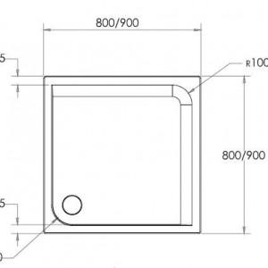 Cădiță de duș ELISA - DIMENSIUNI (L x L x H): 80 cm x 80 cm x 4 cm 90 cm x 90 cm x 4 cm DETALII TEHNICE CADITA DUS ELISA Echipament disponibil: masca 2 laturi; suport metalic reglabil; sifon VIEGA-Germania; Caracteristici: rezistenta; sistem anti-alunecare masca detasabila - Deppo.ro