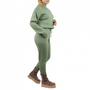 Compleu tricot damă Green