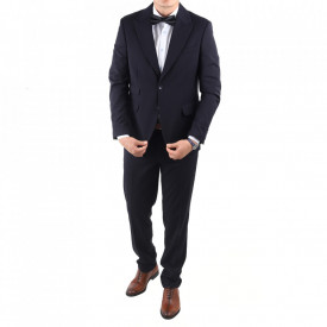 Costum classic fit 2100-6 Albastru