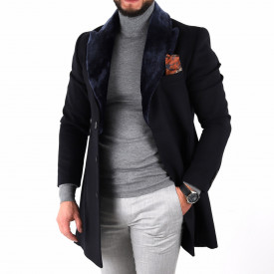 Palton Ramos Bleumarin