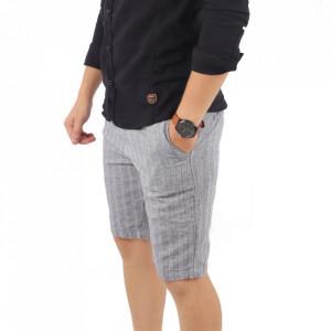 Pantaloni scurți pentru bărbați cod K-2074M Light Blue