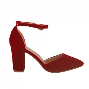 Pantofi cu toc cod 850-26 Red