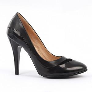 Pantofi cu toc cod B0532 Negri