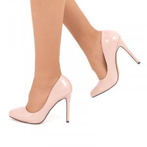 Pantofi cu toc cod CP52302 Bej