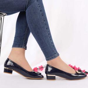 Pantofi Cu Toc Nola Navy
