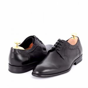 Pantofi din piele naturală Alfonzo Black