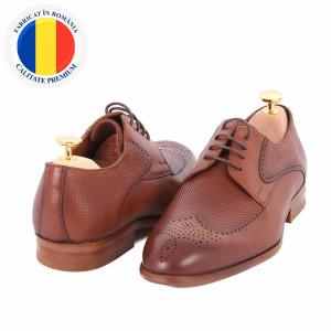 Pantofi din piele naturală Anton