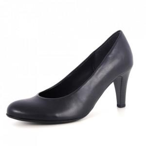 Pantofi din piele naturală cod 26077 Blue