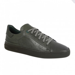 Pantofi din piele naturală pentru bărbați cod 550 Verde