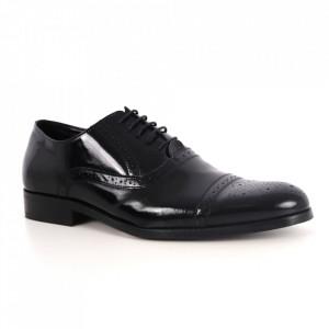Pantofi din piele naturală pentru bărbați cod 856 LN