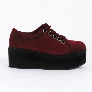 Pantofi pentru dame Cod B0008 Visini