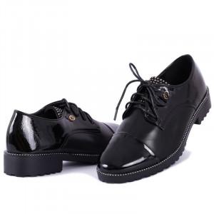 Pantofi pentru dame cod H07 Negri