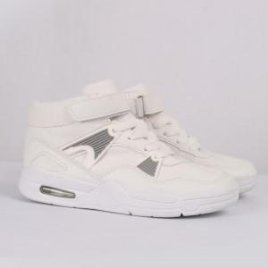 Pantofi sport cod AUD003 Albi - Pantofi sport din piele ecologică și material textil cu talpă din spumă și închidere cu scai - Deppo.ro