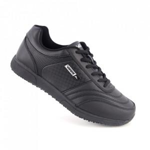Pantofi sport din piele naturală pentru bărbați cod 1347-1 Black