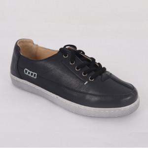 Pantofi Sport din piele naturală pentru dame cod 402 Negru