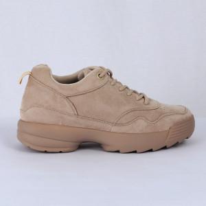 Pantofi Sport Lydia Cod 465 - Pantofi sport din piele ecologică întoarsă  Închidere prin șiret  Foarte comfortabili - Deppo.ro