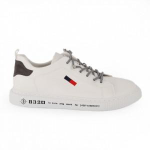 Pantofi sport pentru bărbați cod 3006B White