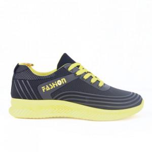 Pantofi Sport pentru bărbați cod H-62 Yellow