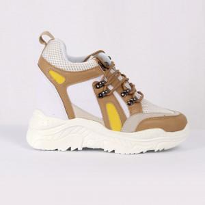 Pantofi Sport pentru dame Cod 180907 Bej