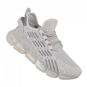 Pantofi sport pentru dame cod A02-5 White