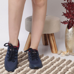 Pantofi Sport pentru dame Cod B0099-2 - Pantofi sport pentru dame dinpanză,talpă din spumă  Foarte ușori și comozi  Închidere prin șiret. - Deppo.ro