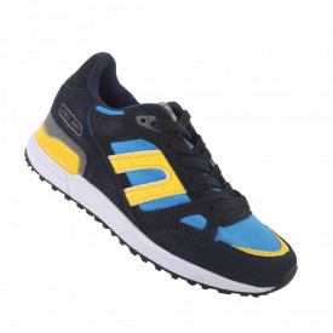 Pantofi sport pentru dame cod BRW98333-11 Blue-Yellow