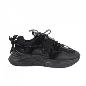 Pantofi Sport pentru dame cod E-002 Black