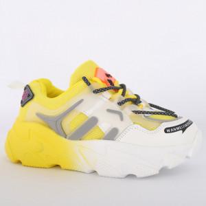 Pantofi Sport pentru dame cod H6 Yellow