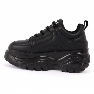 Pantofi Sport pentru dame Cod VENUS-00004 Negri - Pantofi sport albi din material textil respirabil cu vârf rotund și talpă din silicon flexibilă si confortabilă - Deppo.ro