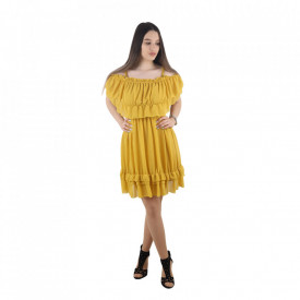 Rochie cod 032 Yellow